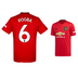 adidas Youth Manchester United Pogba #6 Jersey (Home 19/20)