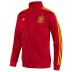 adidas Spain Soccer Track Top (Universal Red/Sunshine)