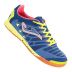 Joma Super Regate Indoor Soccer Shoes (Navy/Neon Yellow)