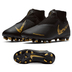 Nike Youth  Phantom Vision Academy DF MG Shoes (Black/Gold)