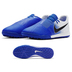 Nike Phantom Venom Academy Turf Soccer Shoes (White/Racer Blue)