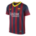 Nike Youth Barcelona Soccer Jersey (Home 13/14)