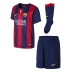 Nike Young Boy Barcelona Soccer Jersey Mini Kit (Home 14/15)