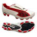 Puma v1.10 K I FG Soccer Shoes (White/Red)