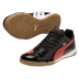 Puma evoPower 3 IT Indoor Soccer Shoes (Black/Grenadine)