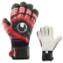 Uhlsport Eliminator Supersoft Bionik Goalie Glove (Black/Red)