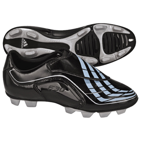 adidas Womens F30.9 TRX FG Soccer Shoes (Black/Blue)