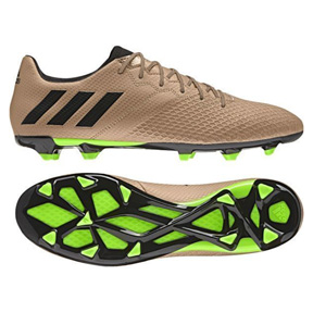 adidas Lionel Messi 16.3 TRX FG Soccer Shoes (Copper/Green)