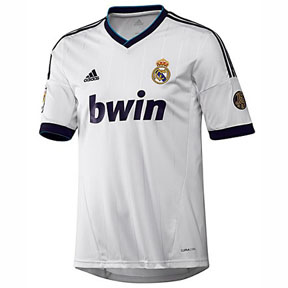adidas Youth Real Madrid Soccer Jersey (Home 12/13)