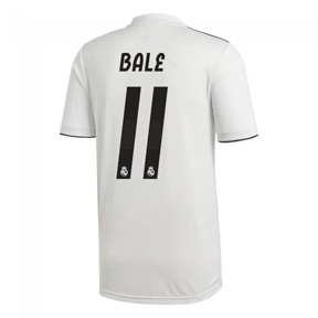 adidas Real Madrid Bale #11 Soccer Jersey (Home 18/19)
