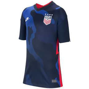 Nike Youth  USA  4 Star Soccer Jersey (Away 20/21)