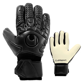 Uhlsport  Comfort AbsolutGrip Soccer Goalie Glove (Black/White)