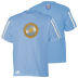 adidas Argentina World Cup 2010 Soccer Tee (Argentina Blue)