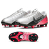 Nike Youth  Mercurial Vapor 13 Academy NJR FG Shoes (Chrome/Red)