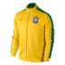 Nike Brazil Authentic N98 Soccer Track Top (Maize/Green 14/15)